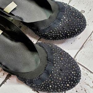 Mossimo Vanessa Scrunch Ballet Flats 8.5